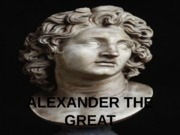 Week 2 -- Alexander the Great
