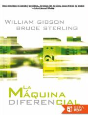 La maquina diferencial - William Gibson.pdf