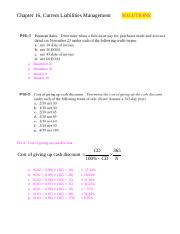 Ch 16 Current Liabilities Solutions.doc