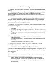 international business in class questions Ch. 1-3.docx