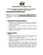 Vacancy Notice - Cooperatives Officer IV, III, II, I.doc