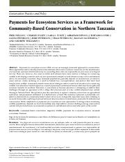 payments_for_ecosystem_services_as_a_framework_for_cbc_in_northern_tz_con_bio_v24_1_