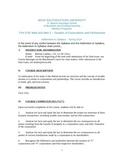 5762 Addendum to Syllabus Spring 2014 Web and Web2 to post