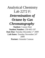 Analytical chemistry homework help