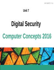Chapter 7 - Digital Security