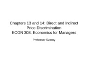 Econ Ch. 13 and 14
