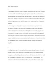 SPAN 295 Notes Part 6