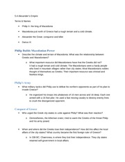 5-4 Study Guide