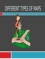 DIFFERENT TYPES OF MAPS 2016 LATEST VERSION
