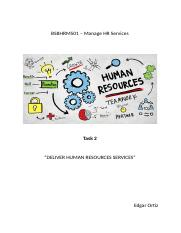 TASK2-BSBHRM501–Manage HR Services.docx