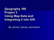 Geography 160