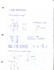notes on angles 1