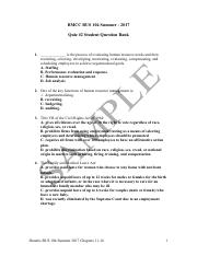 BMCC BUS 104 Summer 2017 Quiz #2 Question Bank - Students Review Session (1).pdf