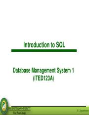Lesson 5 - Introduction to SQL.pdf