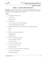 11.01.29 - GaBBA - EDUC 100 - Skills for Academic Success - Handout 1- Learning Questionnaire