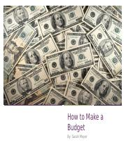 How to Make a Budget.pptx