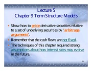 05. Term Structure Models