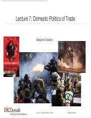 Graham -- IR213 Lecture 7 Domestic Politics of Trade S2020.pdf