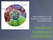 Sustainability for Ethics Class 1 Fa13