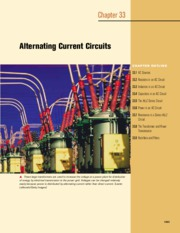 33 - Alternating Current Circuits