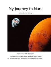 My Journey to Mars