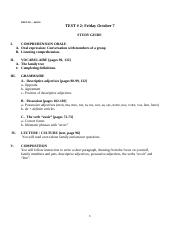 Study Guide Test Theme 2 la famille F16.doc