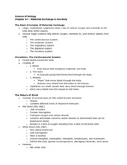 Biology - Chapter 24 Notes
