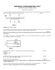 KCSE TRIAL EXAMINATION-Physics-Paper-2-Marking-Scheme-form-4