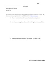 Notes to the Financial Statements 235 10 worksheet