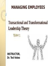 Managing Employees TEAM 1.ppt