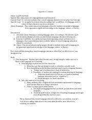 Persuasive Speech FULL OUTLINE