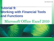 Excel 2010.09