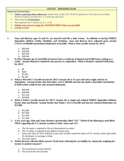 TXX 5761 Sample Test Questions