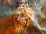 Ch1_Earth in Context