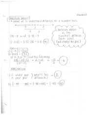Algebra - Absolute Value & Polynomials