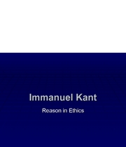 a review of immanuel kants view on ethics Study guide: immanuel kant (1724 – 1804) deontological (duty-based) ethical theory also a form of absolutism actions are evaluated by examining the motives behind them.
