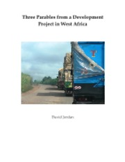 David Jordan Three Parables from Development Work in Africa