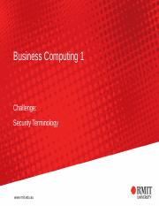 Challenge - Security Terminology(1)(1)