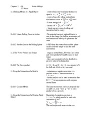 Chapter 11 Cornell Notes