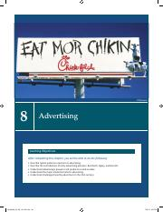 CGD 218 - Chapter 8 - Advertising