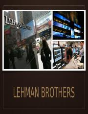 Lehman Brothers and CG.pptx
