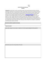 Internet Excercise Form 2016docx
