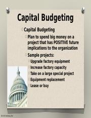 Chapter 23 capital budgeting 2014 (1).pptx