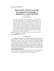5. Bank-Specific and Macroeconomic Determinants of Profitability of Bangladesh's Commercial Banks.pd