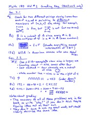 Homework 1 Solution on Fundamentals of Arithmetic
