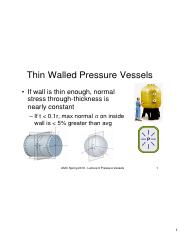 Lecture 9 2016S Thin Wall Presssure Vessels