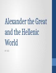 Western Civ. Part 1-Alexander the Great.pptx