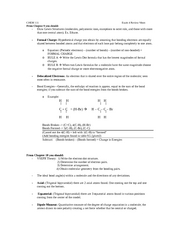 final exam review for chemistry Chem 1100 final exam review hey everyone, here is a study guide i made up based on just the class notes of the semester it is broken up by exam and by.