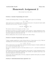 Homework Assignment 2