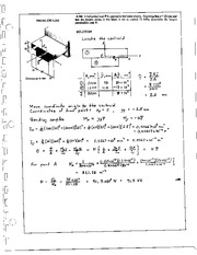 427_Mechanics Homework Mechanics of Materials Solution